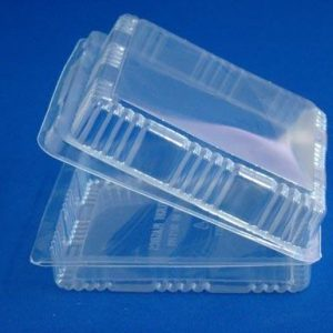 T2803 Flat Square Container