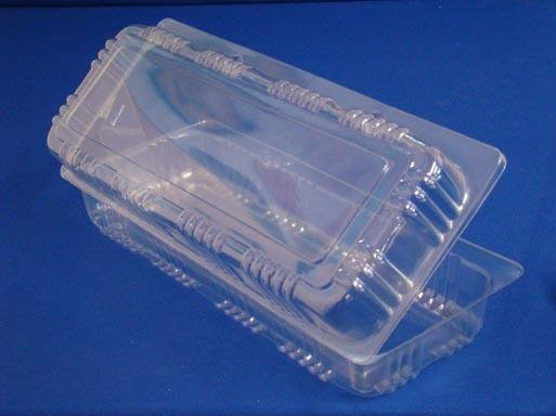 T2814 Log Roll Clamshell Container