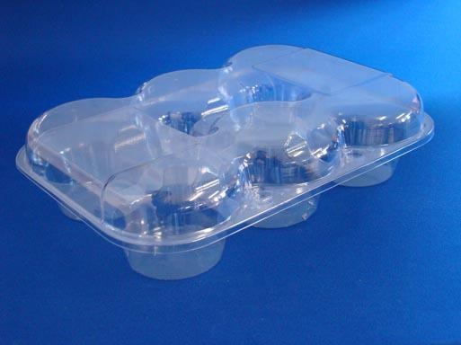 T3272 6 Pack Muffin Clamshell Container
